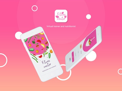 Fitness mentor app concept loading login mentor fitness healthy design app ui ux application