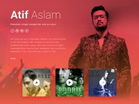Atif Aslam Official Website