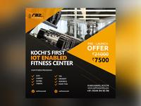 Raz Fitness Social media design