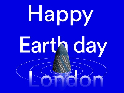 Happy Earth Day Illustration globalwarming 2018 normanfoster architecture illustration london earthday