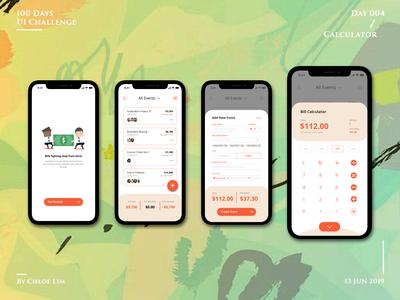 Daily UI | Day 004 :: Calculator