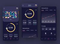 DARTSLIVE App Redesign Concept