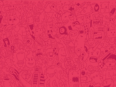 The prequel to Christmas doodle adobe illustrationdesign japanese fantasyart illustration character vector digital branding style doodle