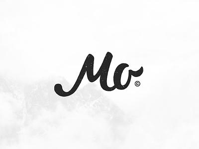 MO Monogram made hand vintage monogram mo design logo