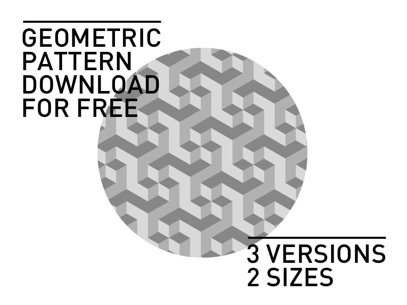 Geometric Pattern pattern geometric free freebie photoshop background download 3d