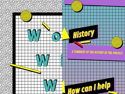 90s CSS challenge retro typography 80s 90s oldschool