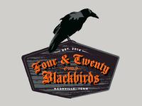 4&20 Blackbirds logo
