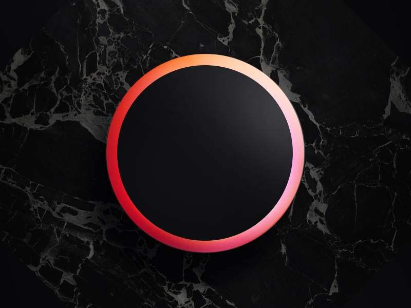 Cover for Circle Projection koln black cover ball circle music