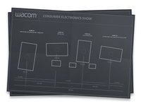Wireframes for Wacom