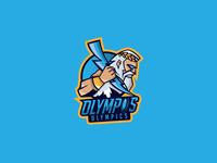 Olympos Olympics Logo | Zeus Mascot