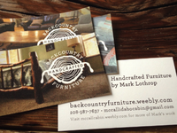 Backcountry Business Card Designs