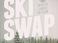 Ski Swap poster collaboration with Robin Lopez