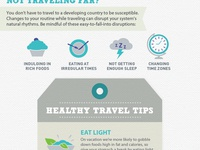 Responsive Travel Infographic