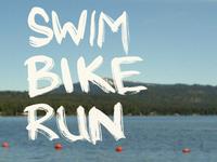 Mountain Triathlon Poster