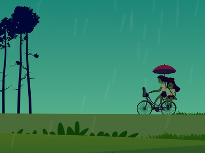 Friendship Day animated video in progress!