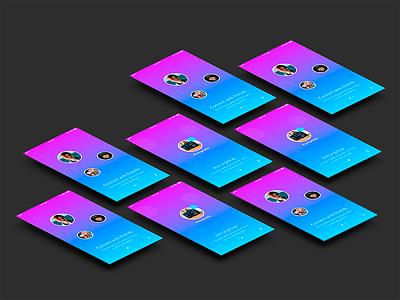Social App Prototype adobe xd social media prototype app
