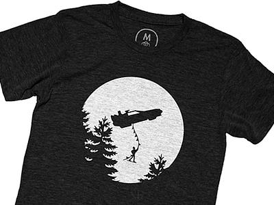 To The Future T-shirt delorean back to the future screenprint shirt minimal illustrator illustration branding apparel