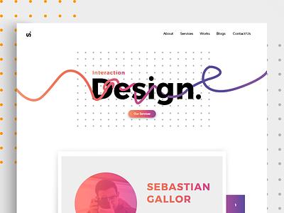 Website Design website gradient design webdesigner ux  ui ux ui design minimal