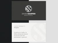"Lawyer Logo ""Javier Samper"""