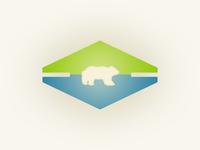Mountain Lake, vacation badge