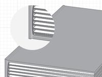 Hardback case binding