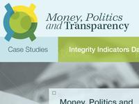 Money, Politics and Transparency Logo