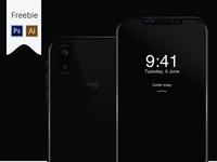 Free iPhone 8 Mockup – PSD/AI