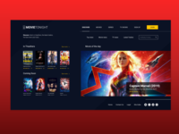 Movie Website - Home Page