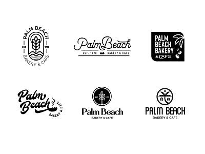Palm Beach Bakery & Cafe logos bakery bread logos palm tree