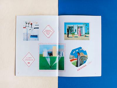 Editorial Design / Pop Art exhibition colors illustration illo typo typography cataloge popart design editorial
