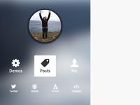 Mattboldt.com Sidebar Navigation