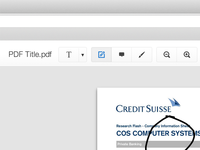 PDF Editor UI