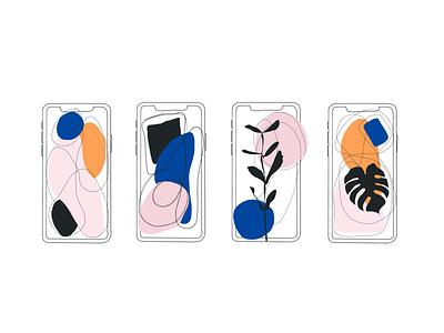 Identity Design Pt. 2 iphone11pro iphonex illustration procreate ipad pro identitydesign