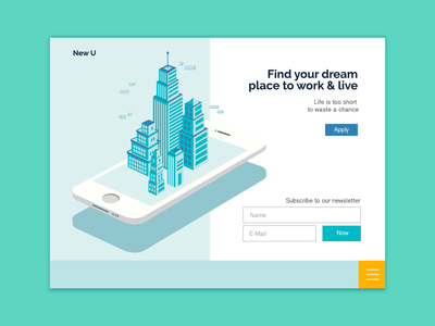 New U - Landing Page Exploration