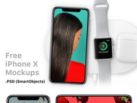 iPhone X Mockups Free