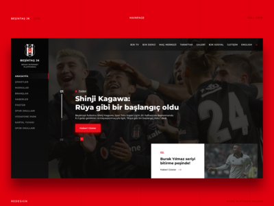 Beşiktaş JK | Football Club Website Detail