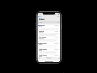 New Multitasking - Finder for iPhone X Concept