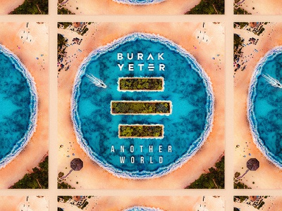 Burak Yeter / Another World album cover galata.design design album artwork artwork album