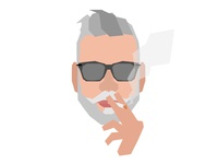 Nick Wooster Smoking