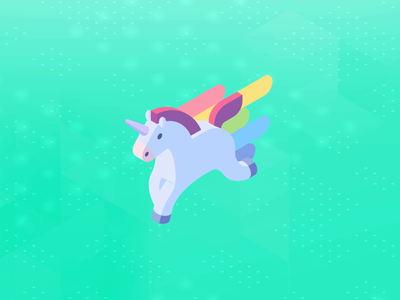 Isometric - Unicorn