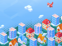 Isometric - City