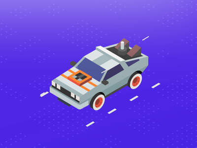 Isometric - DeLorean