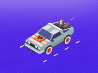 Isometric - DeLorean