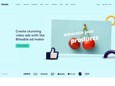 Advertising Landing Page ad marketing landingpage landing website webdesign web homepage fun branding design creative colorful branding