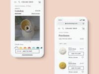 Ceramic E-commerce Mobile Web Experience