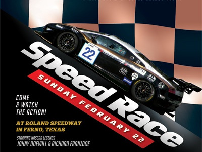 auto racing flyer templates by kinzi wij dribbble dribbble