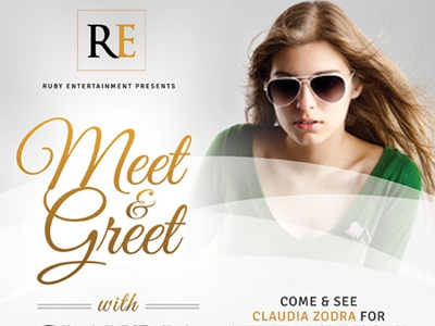 Meet Greet Flyer Templates By Kinzi Wij Dribbble Dribbble