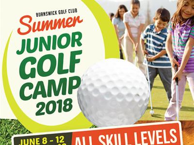 Junior Golf Camp Flyer Templates By Kinzi Wij Dribbble