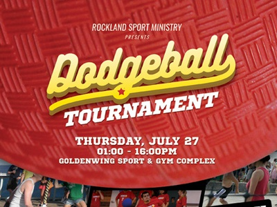 dodgeball tournament flyer templates by kinzi wij dribbble dribbble