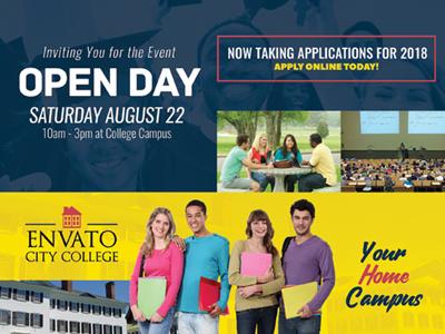 College Open Day Flyer Templates By Kinzi Wij Dribbble